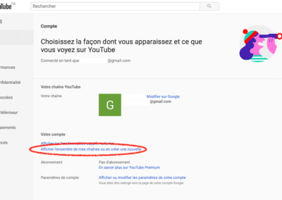 creer une chaine youtube pour sa petite entreprise