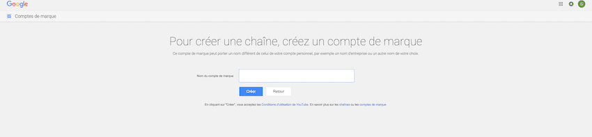 4bis- creer une chaine youtube entreprise