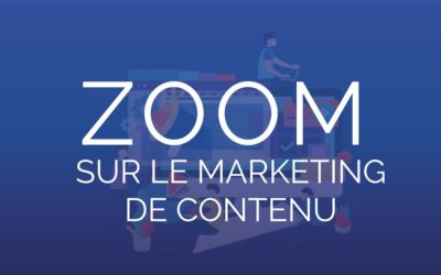 Infographie : Zoom sur le marketing de contenu